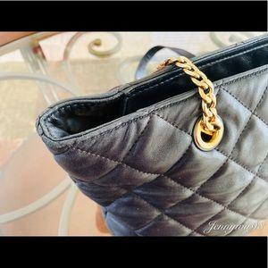 Michael Kors Bags - Michael kors black quilted leather shoulder bag